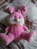 Большой розовый зайка