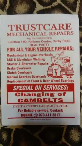 Boat and Trailers repairs