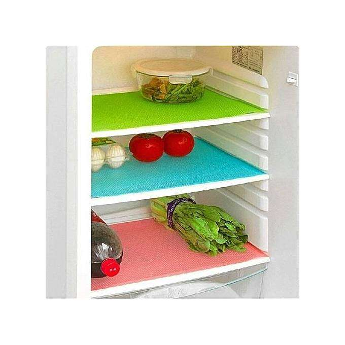 Washable Refrigerator Mats Drawer Mats Table Placemats-4 pack 0