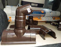 Водостічні системи (ринви. труби ) BRYZA.