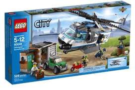 LEGO 60046 City Police Helicopter Surveillance. New