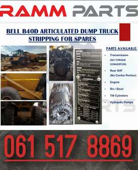 Bell B40D stripping for spares