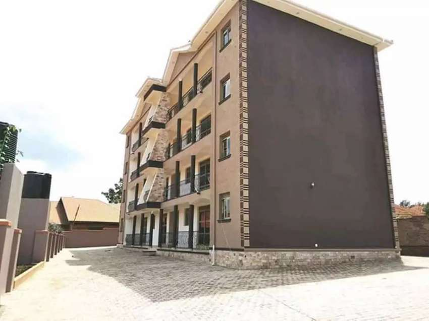 Nsambya Brand new 2 bedroomed Apartment for Rent at 700k 0
