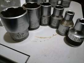 1/2 Inch Gedore metric/imperial sockets for sale