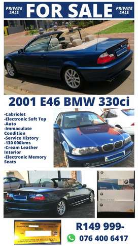BMW 330CI E46 CONVERTIBLE