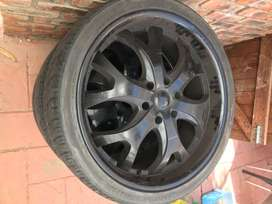 265/35R22 mags and tyres for sale.