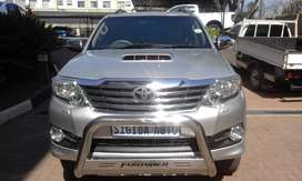 2013 TOYOTA FORTUNER 3.0 D-4D LTD EDITION AUTOMATIC
