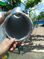 Гофра алюминиевая доя вытяжки 150ка