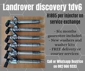 Landrover discovery tdv6 diesel injectors for sale