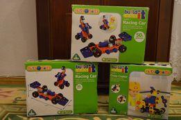 Конструктор вертолёт , гоночная машина Build It фирмы Elc, mothercare