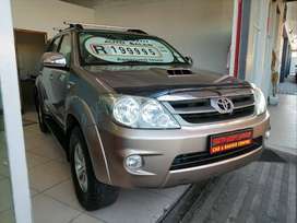 2006 TOYOTA FORTUNER 3.0 D-4D WITH 201425KMS