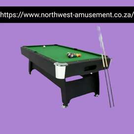 Pool Table with Automatic Ball Return System