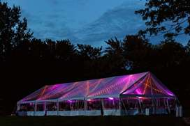MANUFACTURERS OF PEG and POLE TENTS and STRETCH TENTS also HIRING of T
