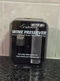 Image of Wine preserver vacuum pump and stopper with vacuum guage