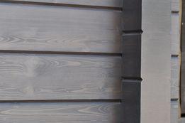 Обновление покраски дома из клееного бруса, террас, пергол