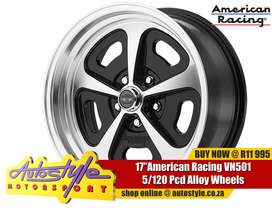 VN501 17 inch American Racing alloy wheels