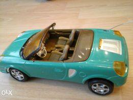 Машинка детская (Toyota MR-2) зеленая( пластик).1:24