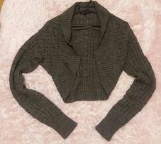 Szary sweter / bolerko Amisu New Yorker jak NOWY, rozmiar M