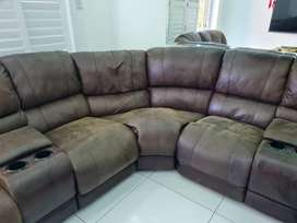 L shape lounge suite