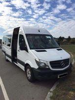 Аренда микроавтобуса заказ Mercedes Sprinter пассажирские перевозки 21