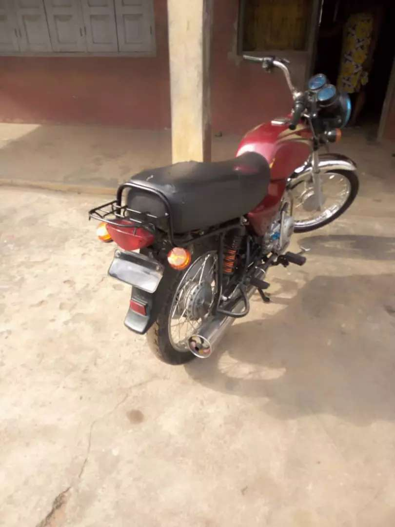 A year old bajaj for sale interested buyer should call or whatsapp me 0