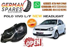 POLO VIVO L/F HEADLIGHT FOR SALE