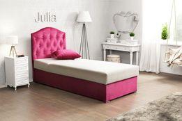 DLA DZIECKA łóżko tapicerowane JULIA 100 x 200