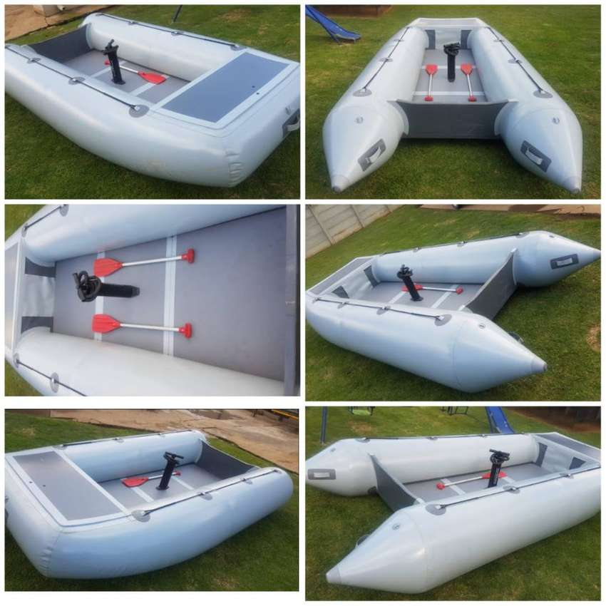 3.9m MONSTER BASS INFLATABLE BOAT 0