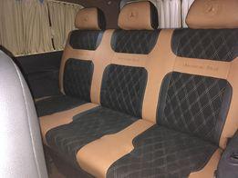 Перетяжка салона за 150$ обшивка сидушек переоборудование автомобиля