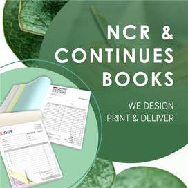 NCR & Continues Books