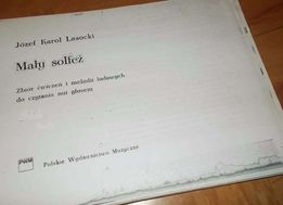 """""""Mały solfeż""""-Jerzy Karol Lasocki- skrypt"""
