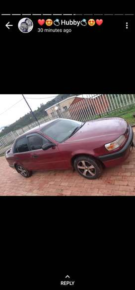 Selling a Toyota Corolla, 2002, used car with 1.8 engine
