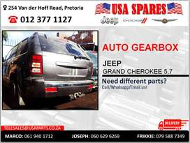 JEEP GRAND CHEROKEE 5.7 AUTOMATIC USED GEARBOX