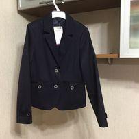Школьный пиджак на девочку Велма на рост 146. Синий. Новый
