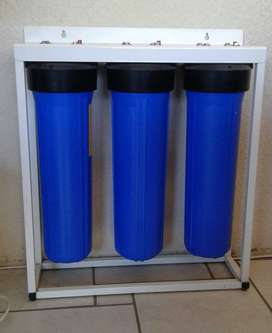 Big Blue 3 stage Water Treatment System