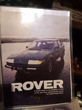 Rover 2600 / 3500, special report