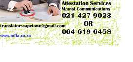 Attestation Services in George