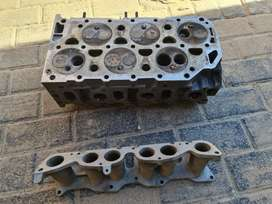 VW VR6 Cylinder head and manifold for sale