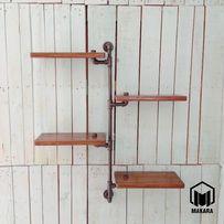 №6 P4 Полка loft мебель лофт изделия из труб