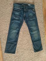 NOWE spodnie jeansowe dżinsowe jeansy REPLAY W32 pas 89cm DŁUGIE