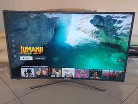 Samsung 49 curved smart TV
