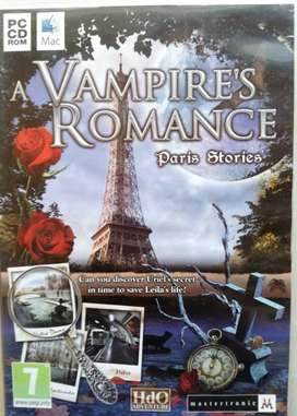 PC CD ROM MAC GAME A VAMPIRE'S ROMANCE