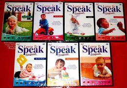 7 DVD Learn to speak nauka 7 języków obcych na każdej płycie