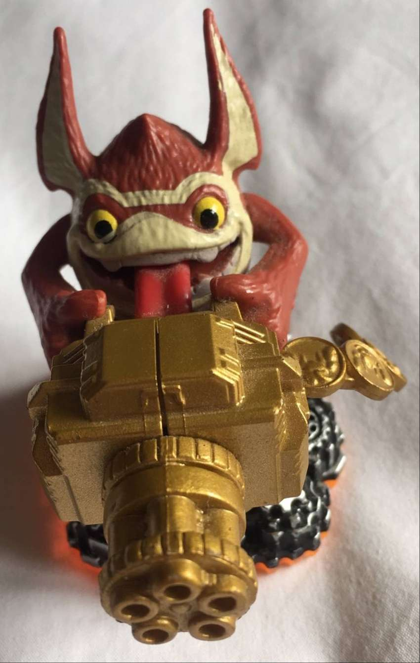 Trigger Happy A Skylanders Giant Character 0