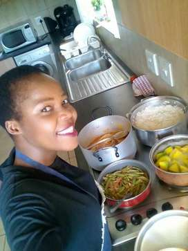 YOUNG MALAWIAN COOKER/DOMESTIC WORKER