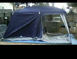 Camp Master Family Cabin 490 5 sleeper tent
