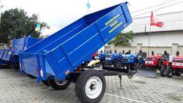 Причіп 1ПТС2 для трактора самоскидний 3т.