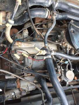 Start and go very clean 2,1 engine for macrobus