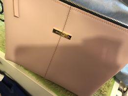 Nowa kosmetyczka Batycki pudrowy roz zapakowana oryginalnie torebka