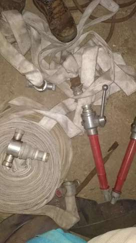 Fire hose and nozzles